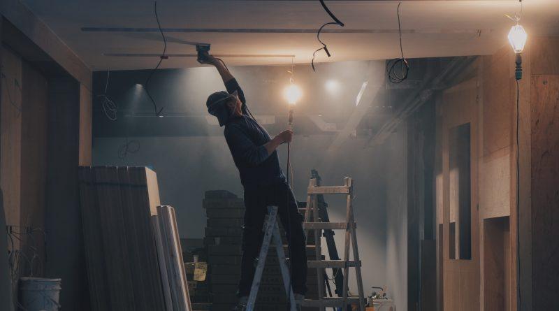 Renovering i huset